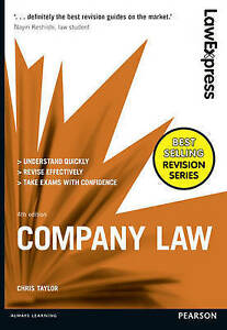 Law Express Company Law 4th Edition 2016