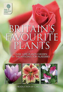 """""""VERY GOOD"""" Britain's Favourite Plants (Rhs), The Royal Horticultural Society, B"""
