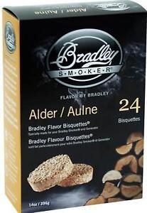 Bradley Smoker all flavors Bisquettes 24 PACK