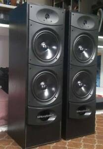 WHARFEDALE FLOOR STANDING SPEAKERS/SURROUND SOUND/MUSIC/ENGLAND Dandenong North Greater Dandenong Preview