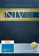 NIV Study Bible Leather