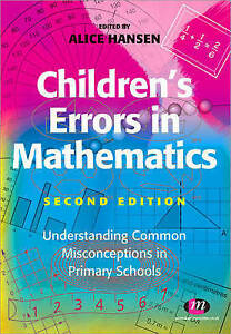 Children's Errors in Mathematics (Teaching Handbooks Series)
