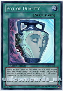 CT08 Pot of Duality Super Rare Mint Yu-Gi-Oh! Card
