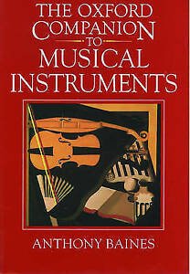 The Oxford Companion to Musical Instruments-ExLibrary