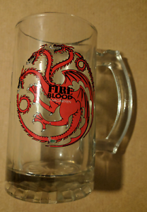 Game of Thrones Targaryen Beer Glass Ascot Park Marion Area Preview