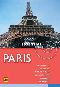 Very Good, AA Essential Spiral Paris (AA Essential Spiral Guides), Publishing, A