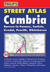 Very Good, Philip's Street Atlas Cumbria: Pocket Edition (Street Atlases), , Boo
