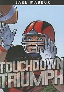 Touchdown Triumph By Maddox, Jake -Paperback