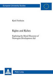 Rights And Riches Fretheim  Kjetil 9783039116621