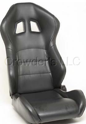 Nrg Seats Xm2 Style Black / Black Trim Reclines Pair