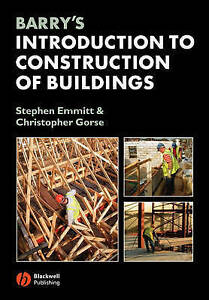 Barry's Introduction to Construction of Buildings-ExLibrary