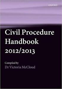 Civil Procedure Handbook 9th Edition