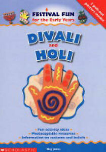 Divali and Holi (Festival Fun for the Early Years), Jones, Meg, Very Good Book