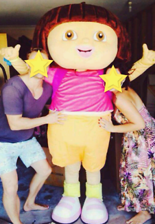 Dora the Explorer costume delux