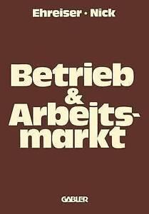 NEW Betrieb und Arbeitsmarkt (German Edition)