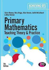 Mooney, Claire-Primary Mathematics: Teaching Theory And Practice  BOOK NEW