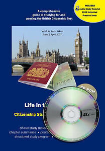 Life in the UK Test Study Material + CD-ROM (with audio) (Life in the UK Citizen