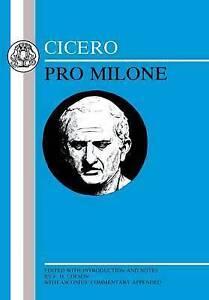 Cicero Pro Milone (Cicero) (Cicero)-ExLibrary