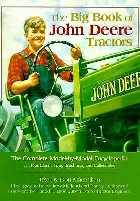 John Deere Tractor Book Ebay
