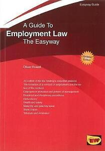 Guide-To-Employment-Law-The-Easyway-2016-by-Oliver-Rowell-Paperback-2016