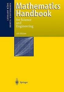 NEW Mathematics Handbook for Science and Engineering by Lennart Rade