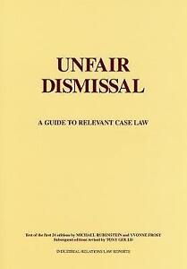 Unfair Dismissal A Guide to Relevant Case LawExLibrary - Dunfermline, United Kingdom - Unfair Dismissal A Guide to Relevant Case LawExLibrary - Dunfermline, United Kingdom
