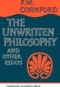 Philosophy Essay Thesis