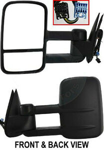 SET TOW MIRRORS - 2007-2013 Silverado & Sierra London Ontario image 5