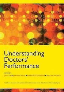 Understanding Doctors' Performance, Very Good Condition Book, , ISBN 97818577576