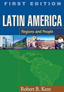 Latin America: Regions and People (Texts in Regional Geography)-ExLibrary