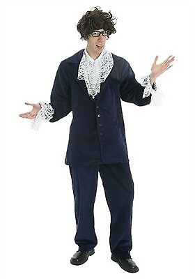 California Costume Collections, Inc. Groovy Guy 01387 Blue/White XL