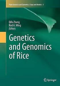 Genetics and Genomics of Rice by Springer-Verlag New York Inc. (Paperback, 2016)