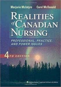 Realities of Canadian Nursing 4th Edition
