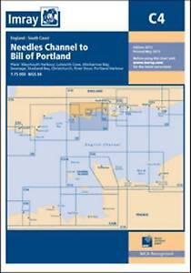 C4 Imray Navigation Chart - Needles Channel to Bill of Portland MS15