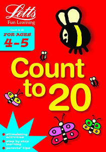 Letts-Fun-Learning-Count-to-20-Age-4-5-Various-New-Book