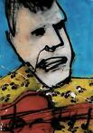 Herman Brood | Origineel Schilderij: David the Guitarman