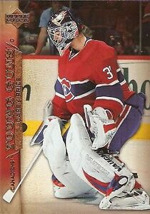 Goalie tandem - Carey Price / Al Montoya rookie hockey card pkg! Kingston Kingston Area image 1