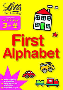 """""""NEW"""" First Alphabet Age 3-4 (Letts Fun Learning) (Letts Fun Farmyard Learning),"""