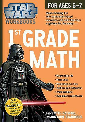 Star Wars Workbook  1St Grade Math By Workman Publishing Company Staff