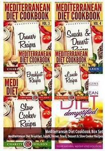 Mediterranean Diet Cookbook Box Set: Mediterranean Diet Breakfast, Lunch,  Dinner, Snack, Dessert & Slow Cooker Recipes by Charity Wilson, Darrin