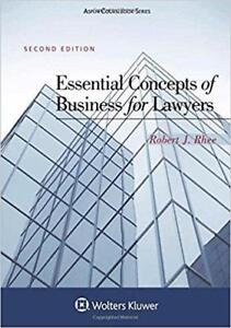 Essential Concepts of Business for Lawyers 2nd Edition