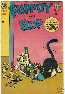 Flippity and Flop #14 February 1954
