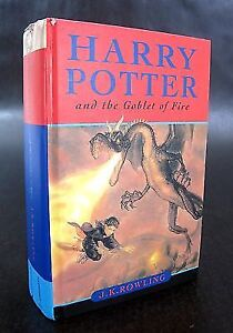 USED Harry Potter and the Goblet of Fire Hardcover Book
