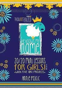 NEW He Knows My Name 20/20 Mini Lessons for Girls by Annie Pajcic