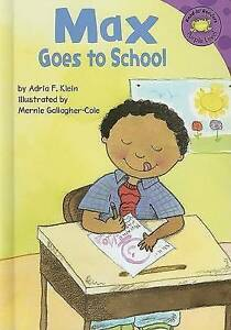 NEW Max Goes to School (Read-It! Readers: The Life of Max) by Adria F Klein
