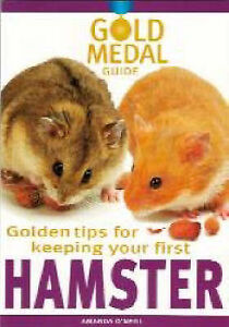 GOLD MEDAL GUIDE TO KEEPING A HAMSTER ***NEW BOOK***