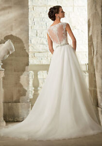 Mori Lee Illusion Sweetheart Tulle Dress for Sale