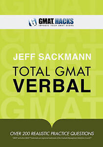 NEW Total GMAT Verbal by Jeff Sackmann