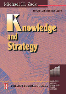 Knowledge and Strategy (Knowledge Reader), Unknown, Used; Very Good Book