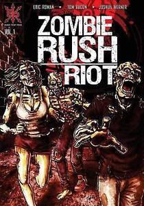 Zombie Rush: Riot: Volume 1 by Roman, Eric -Paperback